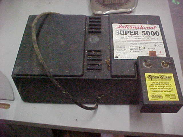 International Electric Fence Controllers Fence Charger Repair