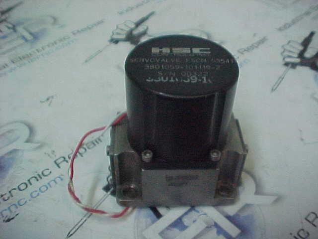 Hsc Controls Inc Electro Servo Valve Repair