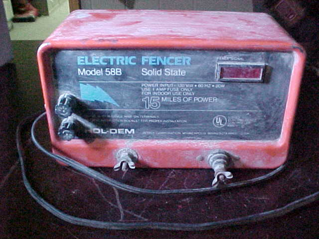 Hol Dem Electric Fencer Repair