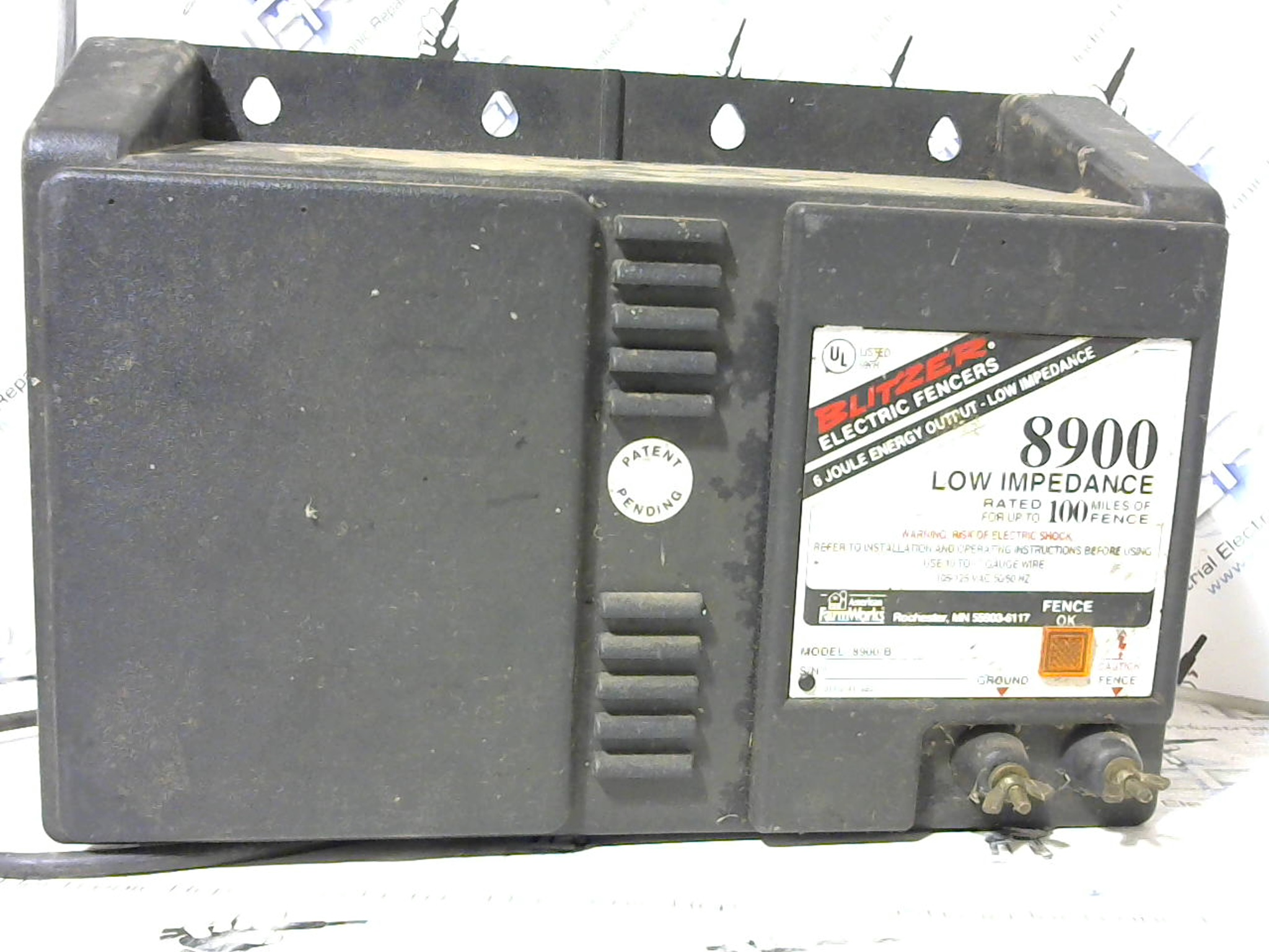 Blitzer Electric Fence Charger Repair