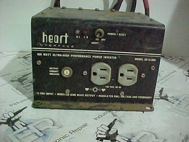 Heart Interface Inverter Repair