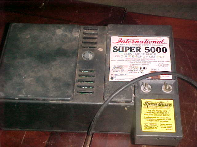 American Farmworks Fence Charger Repair