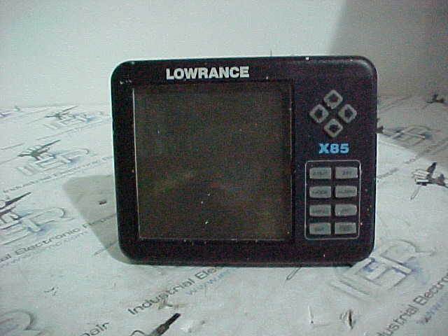 Lowrance Sonar Unit Repair